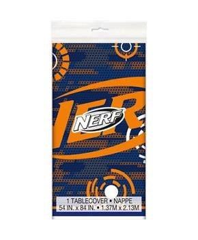 "Nerf Party! Plastic Tablecover 54"" x 84"""