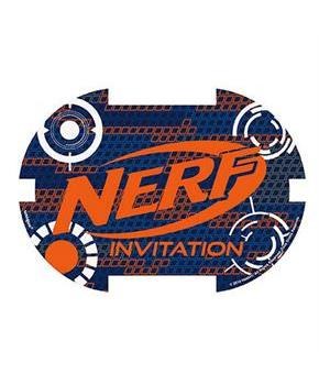8 Nerf Party! Invitations (8)