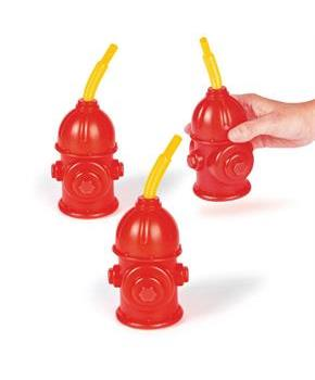 Fire Hydrant Molded Cups (8Pc)