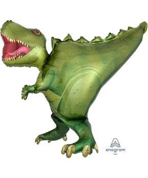 T-Rex 36 Shaped Jumbo Foil Balloon