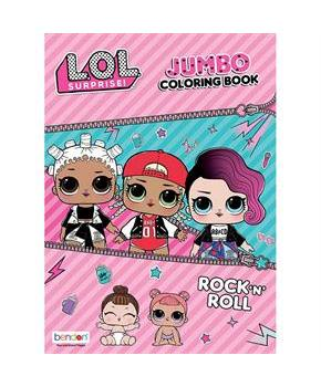LOL Surprise Rock 'N' Roll Coloring and Activity Book