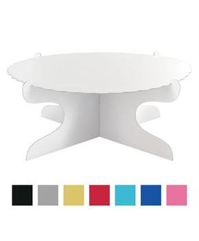 Red Cardboard Cake Stand (1)