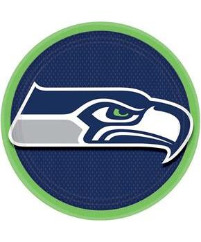 "Seattle Seahawks 9"" Lunch Plate (8)"