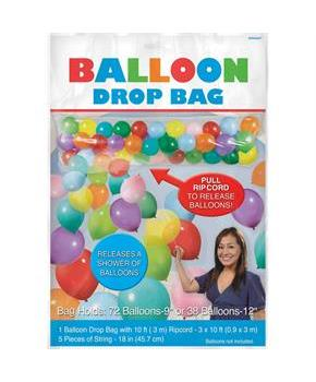 Balloon Drop Bag