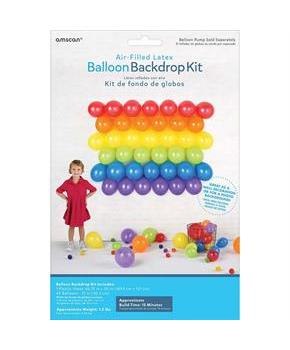 Balloonn Backdrop Kit - Primary Colors