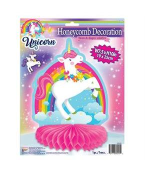 Unicorn Honeycomb Centerpiece