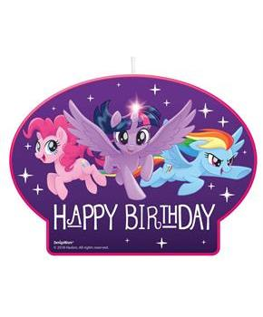 MLP Friendship Adventures Birthday Candle (1)