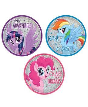 MLP Friendship Adventures 7 Dessert Plate (8)