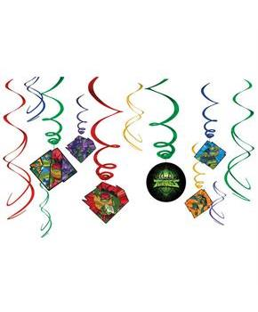 Rise of the TMNT Hanging Swirl Decorations (12)