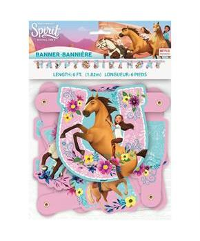 Spirit Riding Free Large Jointed Banner