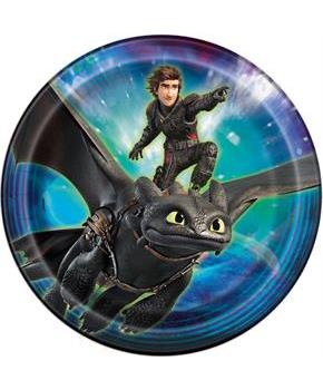 "How To Train Your Dragon 3 9"" Dinner Plate (8)"