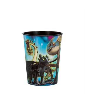 How To Train Your Dragon 3 16oz. Plastic Favor Cup (1)