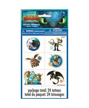 24 How To Train Your Dragon 3 Tattoo
