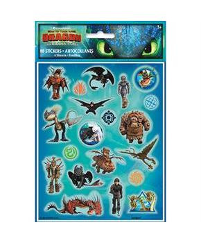 4 How To Train Your Dragon 3 Sticker Sheet