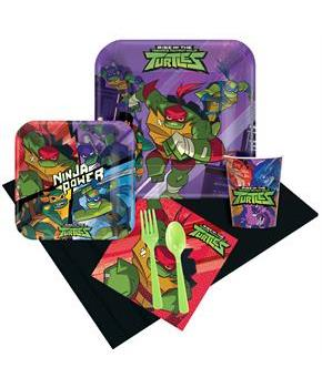 Rise of the Teenage Mutant Ninja Turtles Party Pac