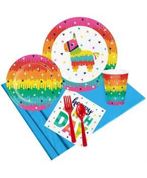 Let's Fiesta Happy Birthday Party Pack for 8