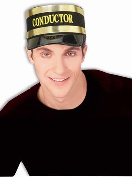 Conductor Hat Economy - Black - One Size
