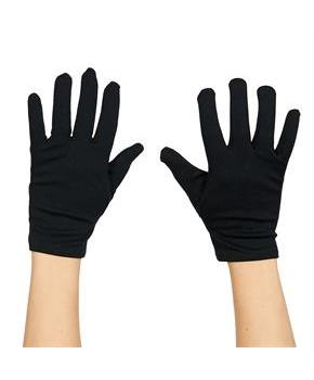 Theatrical Child (Black) Gloves - Black - One Size