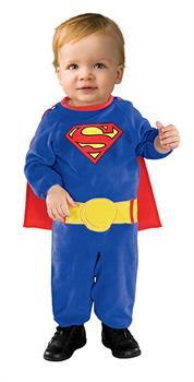 Boys Superman Infant (6-12 Months) Costume - Blue - 6-12 months