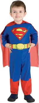Boys Superman Toddler Costume - Red/Blue - Toddler