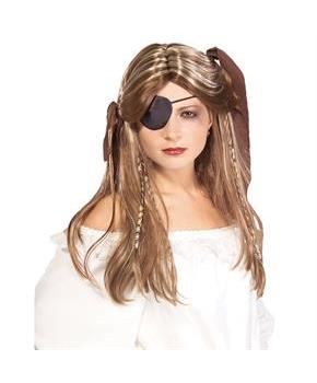 Pirate Wench Adult Wig