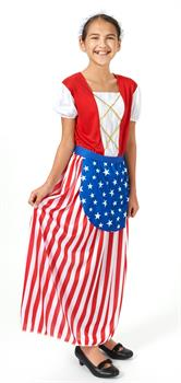Girls Betsy Ross Heroes In History Child Costume
