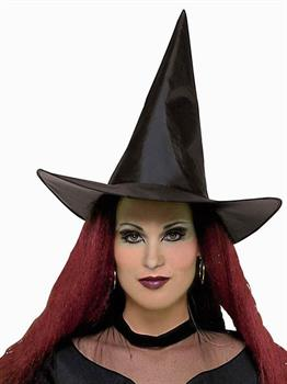 Women's Witch Hat, Adult - Black - One-Size
