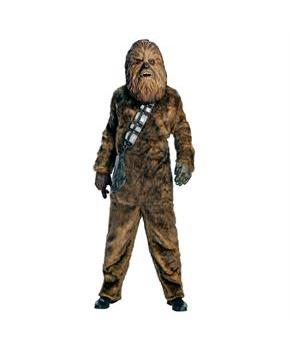 Men's Star Wars Chewbacca Adult Costume - Brown - Standard One-Size