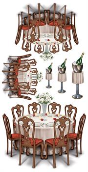 Black-Tie Dining Props Add-Ons