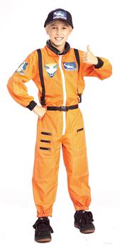 Boys NASA Astronaut Toddler Costume - Orange - Toddler for Halloween