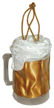 Women's Beer Mug Handbag - Brown for Halloween