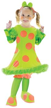 Girls Lolli The Clown Toddler Costume for Halloween