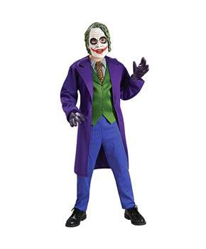 Boys Batman Dark Knight Deluxe The Joker Child Costume