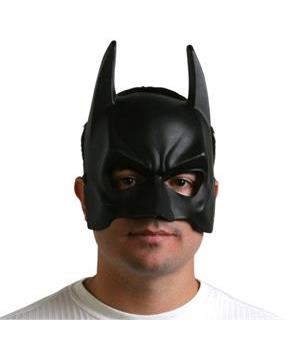 Men's BatmanThe Dark Knight Rises Adult Mask - Black - One-Size