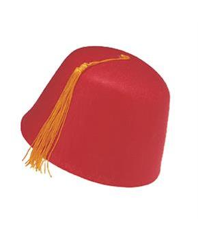 Durashape Fez Hat Red Ottoman Military Fancy Dress accessory