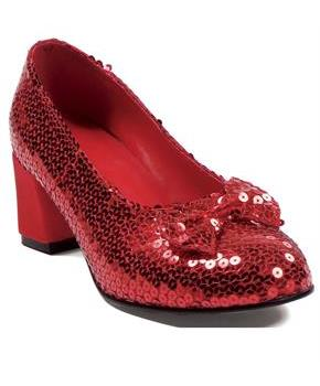 Women's Judy Sequin (Red) Adult Shoes