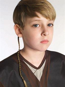 Men's Star Wars Jedi Braid - Brown - One Size for Halloween