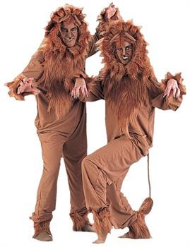 Men's Lion Adult Costume for Halloween