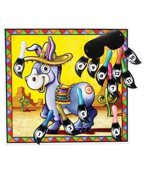 "Pin the Tail on the Donkey Game 18""x20"""