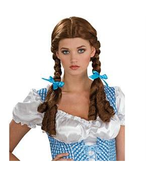 Women's The Wizard of Oz Deluxe Dorothy Wig Adult - Blue - One-Size