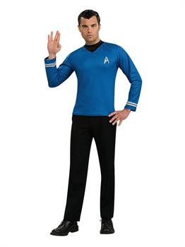 Star Trek Movie (2009) Blue Shirt Adult Costume