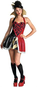 Alice in Wonderland Queen of Hearts Adult Costume
