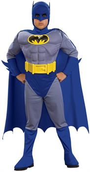 Batman Brave & Bold Deluxe M/C Batman Toddler / Child Costume