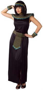 Black/Gold Cleopatra Adult Costume