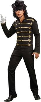 Michael Jackson Military Printed Jacket Adult Costume