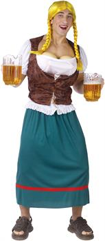 Miss German-breast Adult Costume