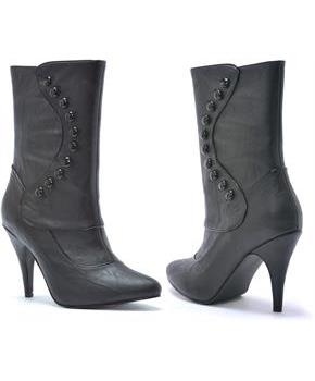 Ruth Victorian (Black) Adult Boots