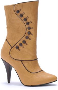 Ruth Victorian (Tan) Adult Boots