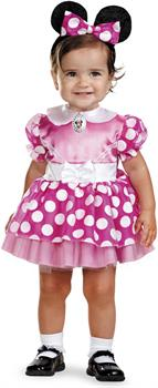 Girls Mickey Mouse Clubhouse - Pink Minnie Mouse Infant Costume