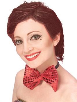 Women's Rocky Horror Picture Show Columbia Wig - Red - One Size